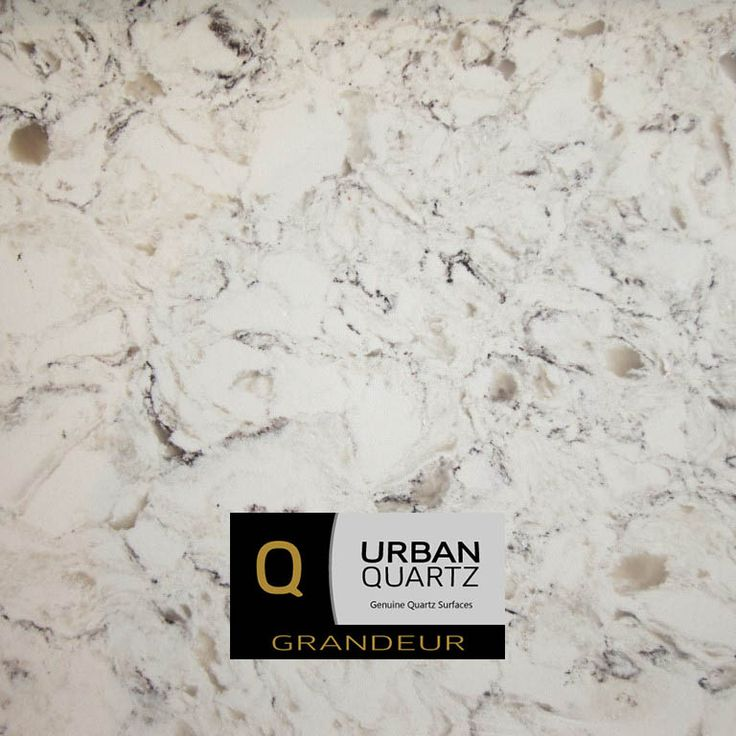Bianco Foresta | New for 2017 a gorgeous white natural looking quartz.