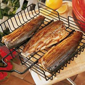 Barbecued Trout... one of the best fish recipes ever...Yep! I must agree, different & delicious! Grill Nite 09-08-2013