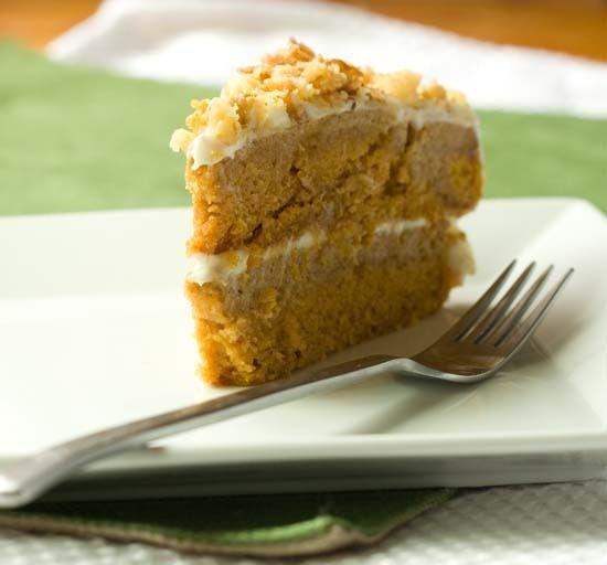pumpkin crunch cake! yum!! pumpkin pie and cake layers ...