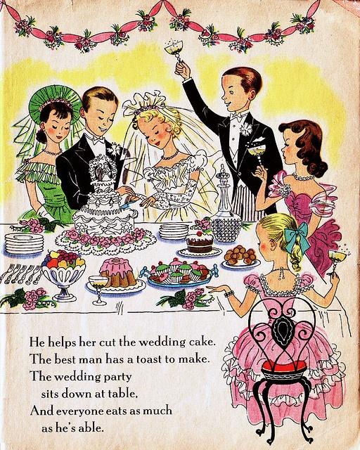 Paper Doll Wedding @Karen Webster..don't we have this book? It looks super familiar!