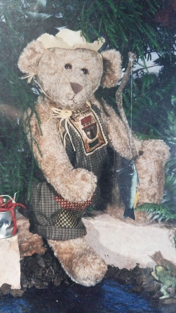 Washboard Bears – Wilbur' Victorian Rose Teddy Bear sewing pattern soft toy doll #VictorianRose