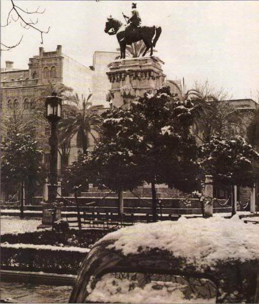 Sevilla nevada, 1954.
