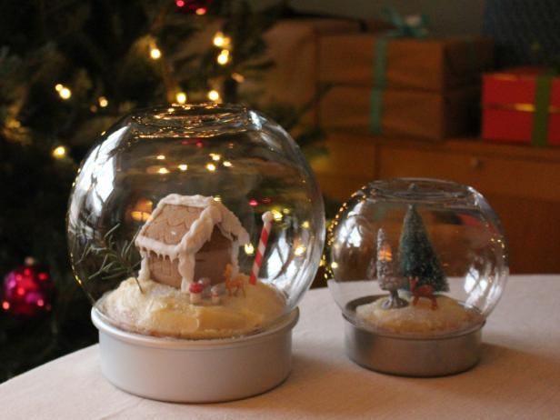 Make an Edible Snow Globe for the Holidays | Decorating and Design Blog | HGTV