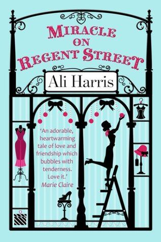 Miracle on Regent Street  by Ali Harris  It was a cute Christmas love story about a 28-year old finding herself and what she loves while torn between thinking she's invisible and someone else.