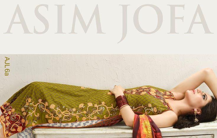 Asim Jofa Luxury Eid Dresses Collection 2015-2016