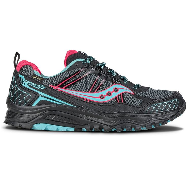 Chaussure de course trail femme Saucony Excursion Tr10 GTX women's trail running shoe – Soccer Sport Fitness #soccersportfitness #saucony #running #trail #trailrunning #sport #fitness #courseapied #courir