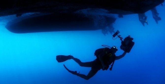 Diving correct technique
