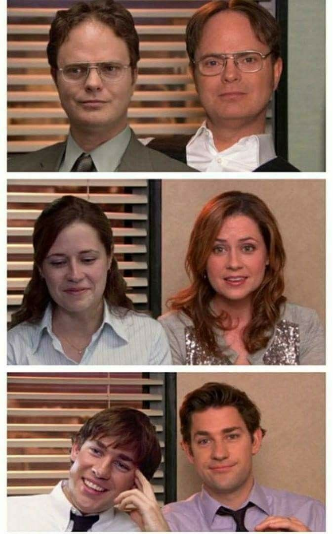 Jim And Pam Wedding Episode.Dwight Looks Almost The Same Tbh Office Memes Office