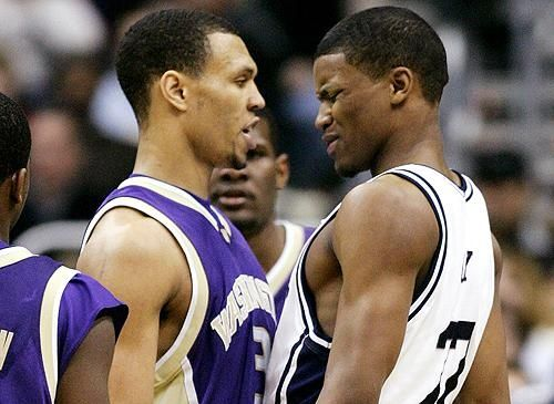 Brandon Roy & Rudy Gay in college