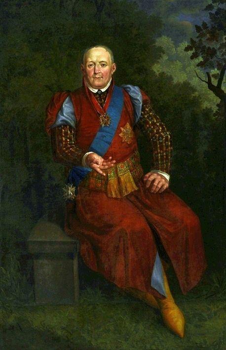 Portrait of Michał Walewski 1800