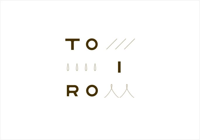 Minimal logo // TOIRO client : ATEAM / media : ロゴ art / design : 加藤 雅尚