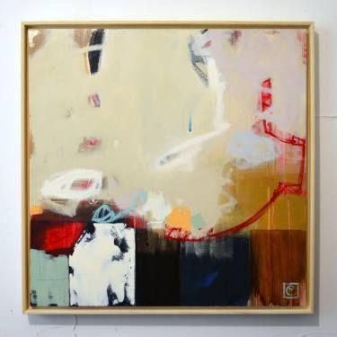 """Saatchi Art Artist Matteo Cassina; Painting, """"La bilancia dello stress"""" #art"""