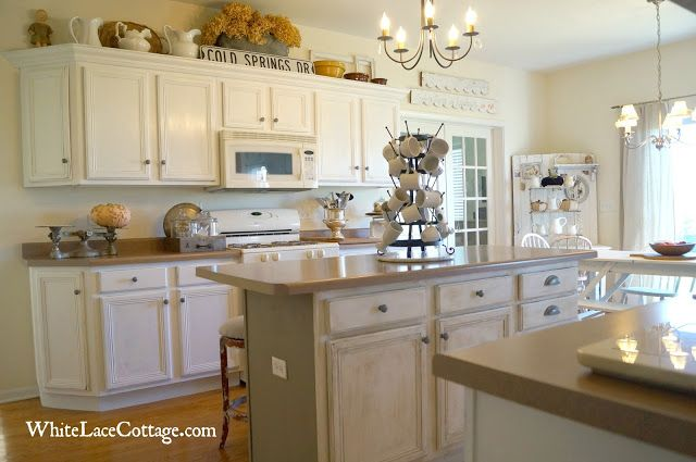 Over Cabinet Decor Kitchen Makeover Pinterest