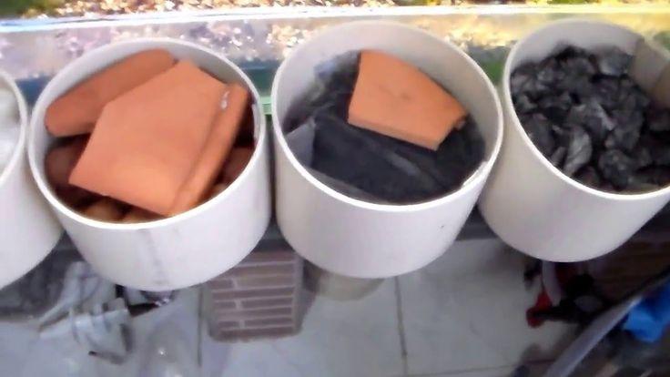 Midias Biológicas Funcionais para filtro canister  caseiro
