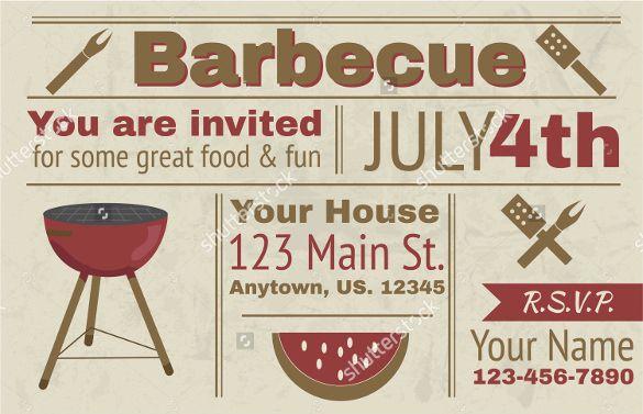Bbq Invitation Template Word Beautiful 32 Barbeque Invitation Templates Psd Word Ai Barbecue Invitations Bbq Invitation Party Invite Template