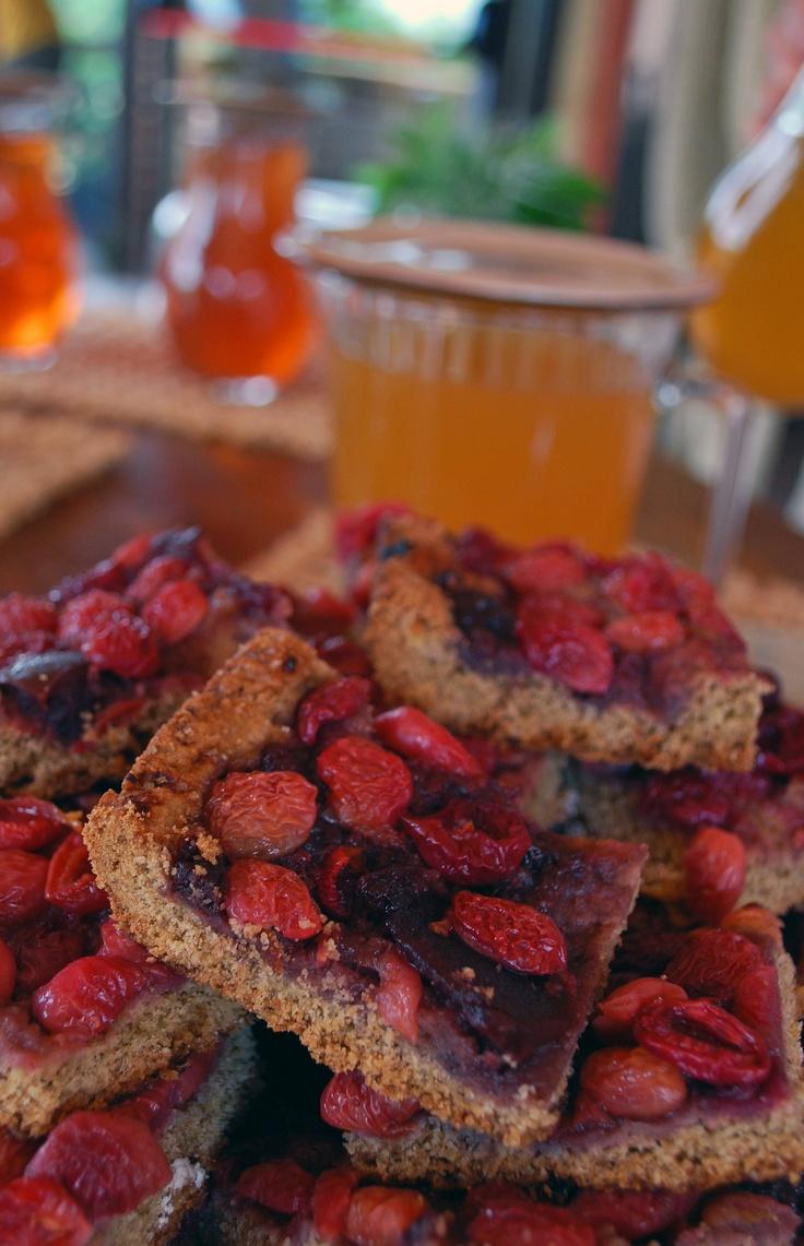 Crostata di ciliegie dell'Agriturismo Monte degli Aromi - Villaga