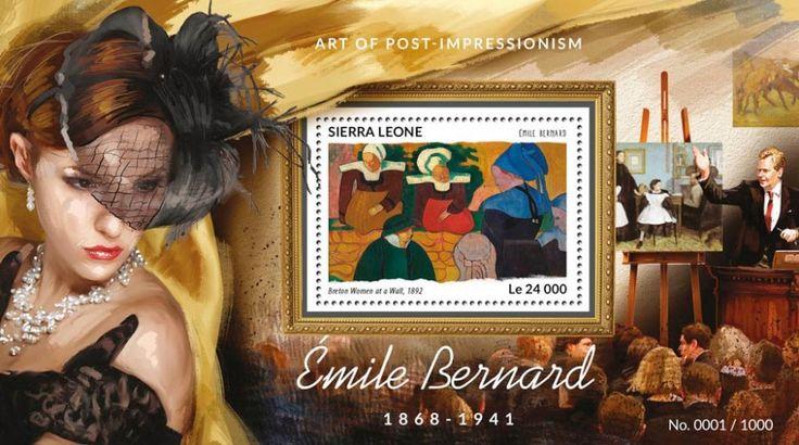 SRL15419b Émile Bernard (Breton Women at a Wall, 1892)