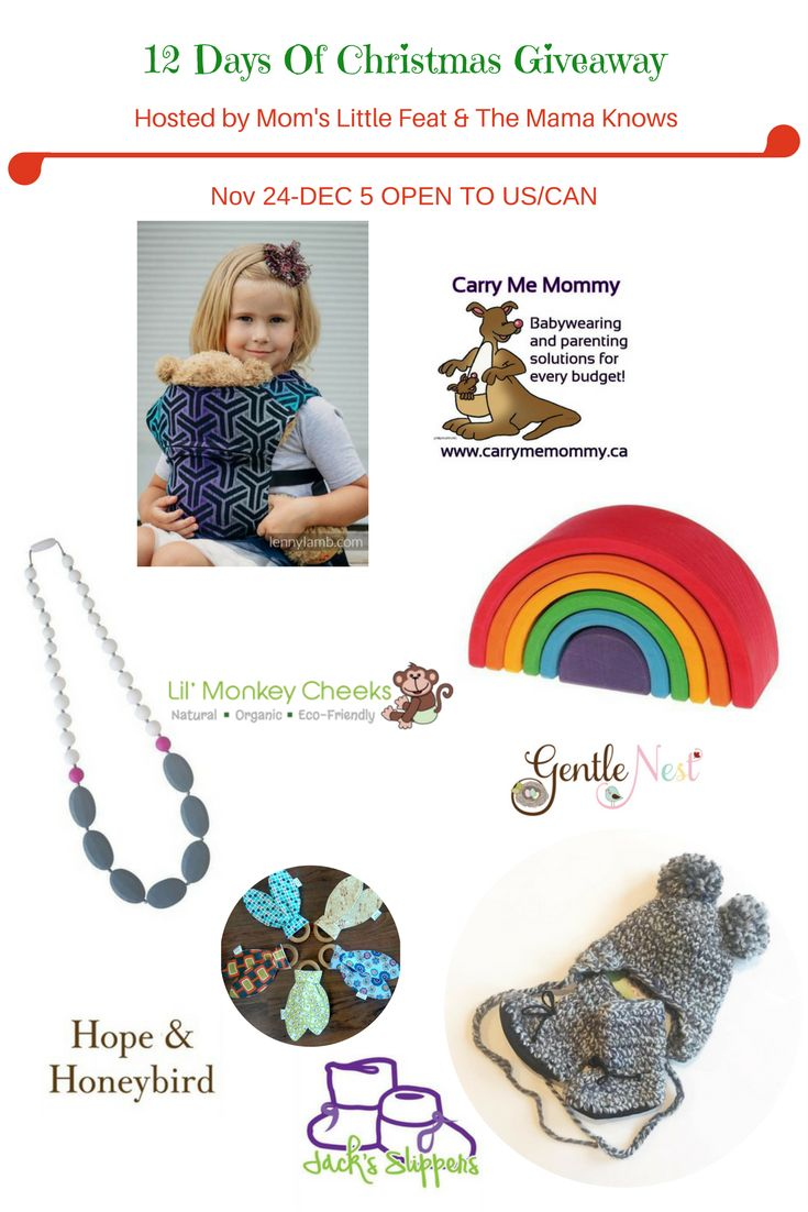 Win toddler gifts, kid's toys, Grimm's toy, Jack's mama beanie and booties, teething necklace, lenny lamb doll carrier