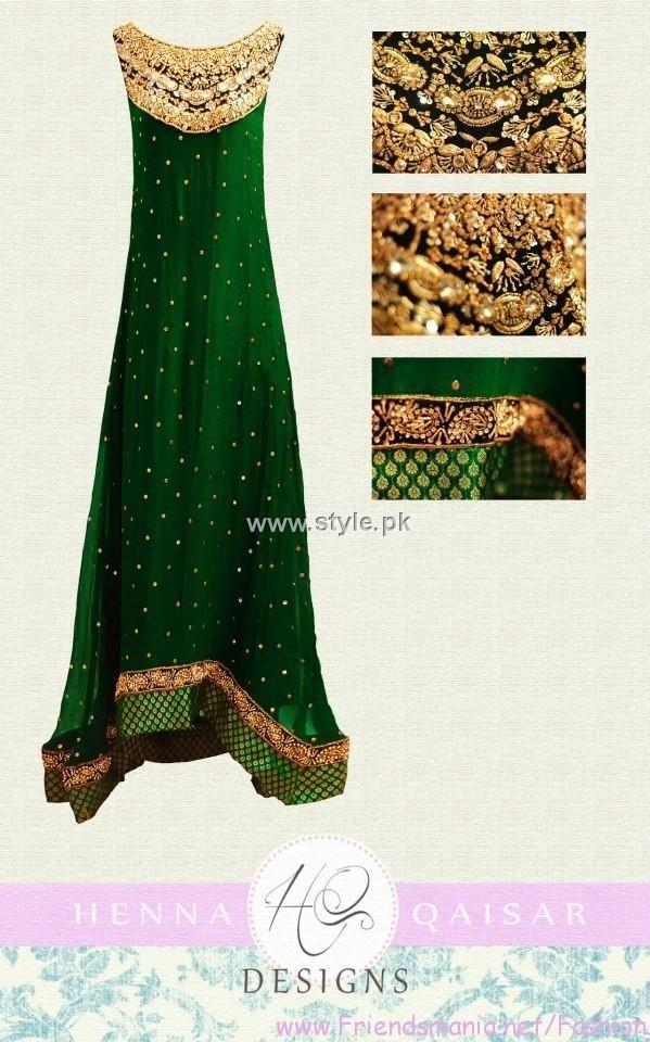Green and gold bridesmaid dresses