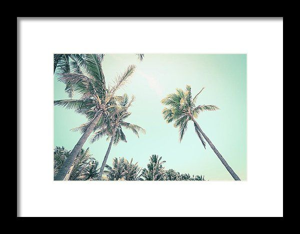 Coco Beach Framed Print by Mc. All framed prints are professionally printed, framed, assembled, and shipped within 3 - 4 business days and delivered ready-to-hang on your wall. Choose from multiple print sizes and hundreds of frame and mat options.