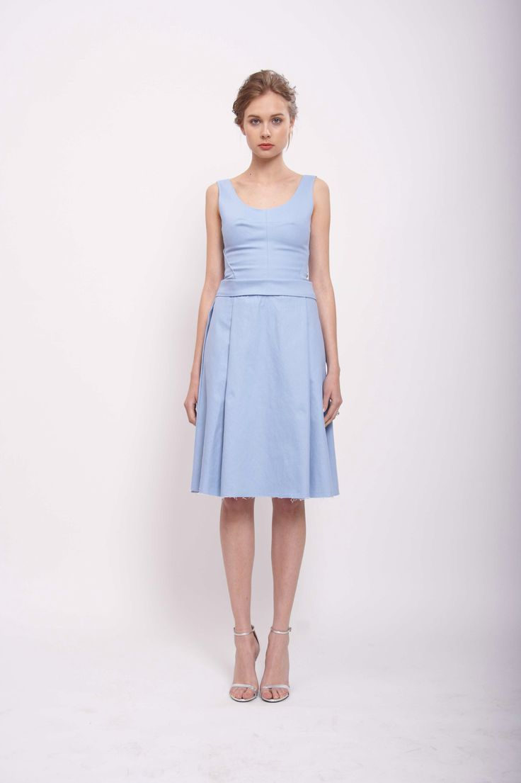 DENIM DRESS, LEEDA