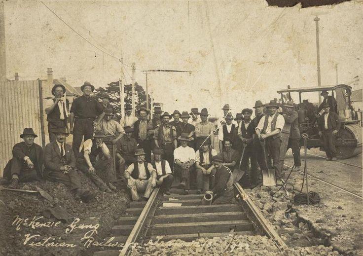'McKenzie Gang Victorian Railways - Tramways', St Kilda-Brighton Line, Melbourne, Victoria, 1922