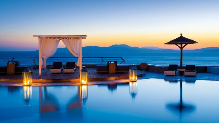 Mykonos Grand Hotel & Resort is one of the finest Greece honeymoon resorts, defining the essence of a superb honeymoon. Description from wedalerthoneymoons.com. I searched for this on bing.com/images