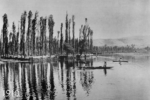 Xochimilco en 1910