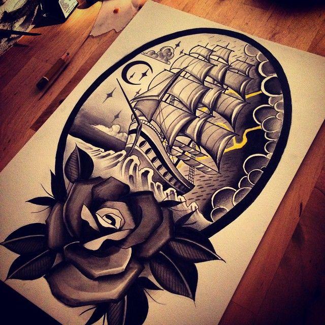 Done by Alessandro Jako, tattoo artist at Black Heart Tattoo Studio (Epson), UK TattooStage.com - Rate & review your tattoo artist. #tattoo #tattoos #ink