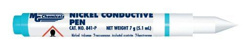 Mg Chemicals 841-P Nickel Conductive Pen Resistivity 1 Ohm, 2015 Amazon Top Rated Light Cure Pens #BISS