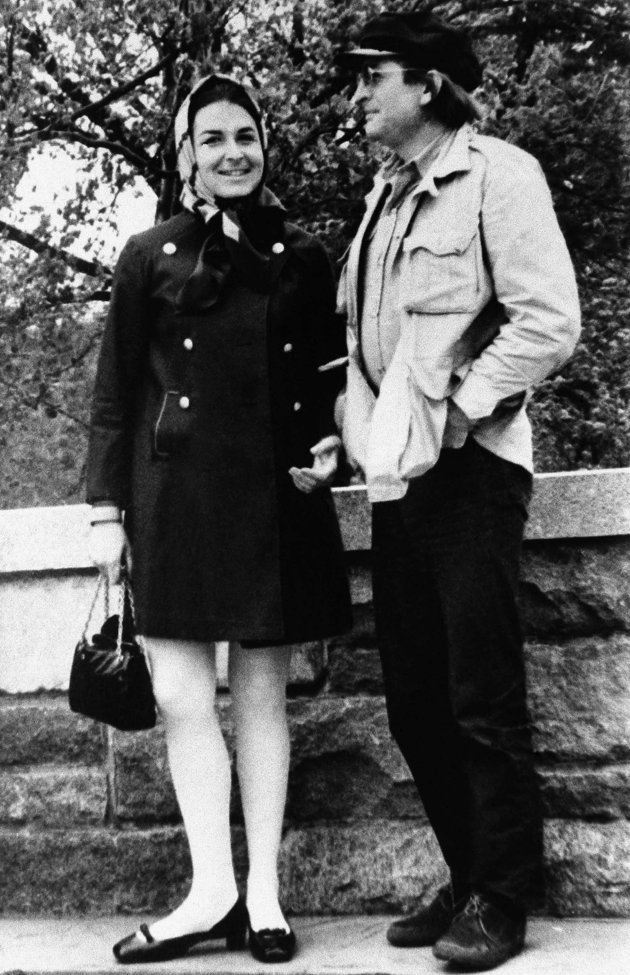"""Actress Sharon Tate is shown in 1965. (AP Photo)  Coffee heiress Abigail Folger and director Voityck Frykowsky, seen here in NY in 1968, were both among the victims of the multiple murder at the home of actress Sharon Tate Aug. 9, 1969. Frokowsky's mother has told newsmen he loved Miss Folger but wouldn't marry her """"because she was rich."""""""