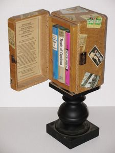 Rick Tuttle:For The Henry Miller Trilogy Tuttle designed a custom valise/suitcase. He also created all the travel stickers that adorn the suitcase. The inside lid of the case includes the history of the books publication, censorship and eventual distribution.  Check out more of his art at http://ricktuttle.com/