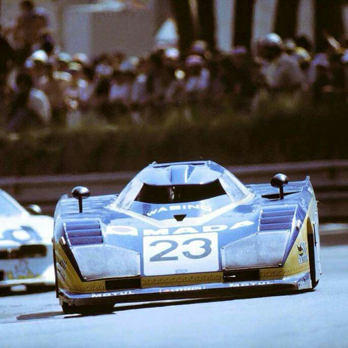 Craft Evans Dome Zero RL 81Ford Le Mans 1981