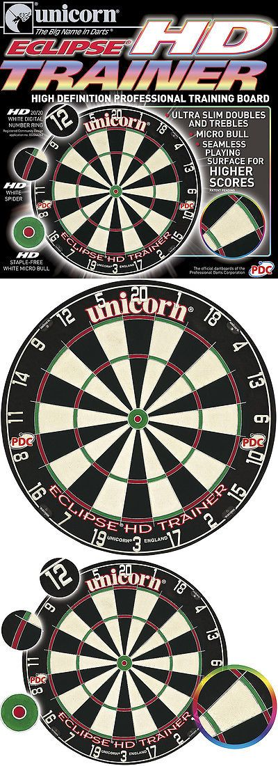 Dart Boards 72576: Unicorn Eclipse Hd Trainer Bristle Dartboard W Free Shipping -> BUY IT NOW ONLY: $84.95 on eBay!