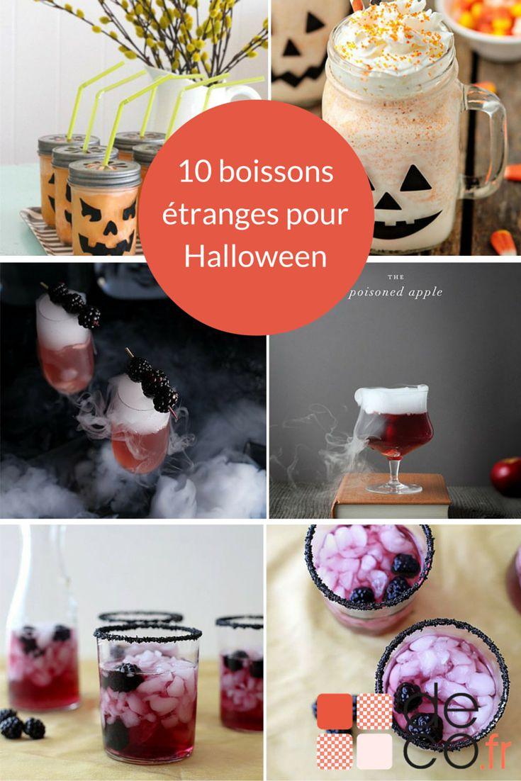 10 boissons pour d'Halloween