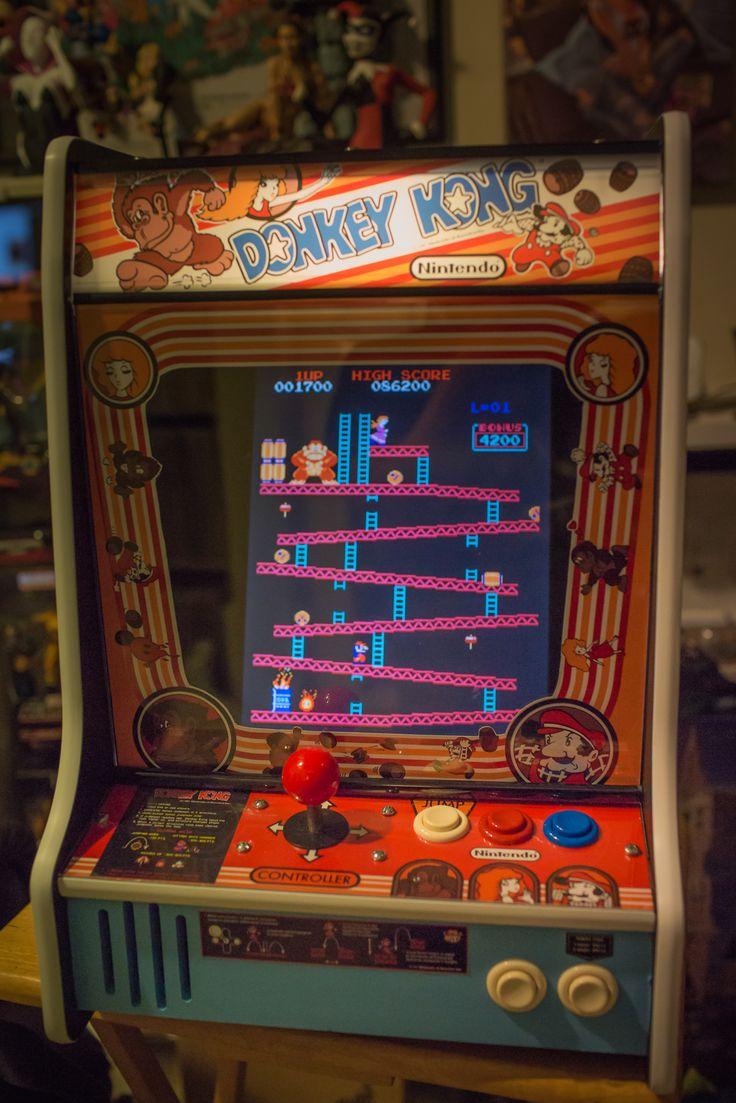 Best 25 Donkey Kong Arcade Machine Ideas On Pinterest