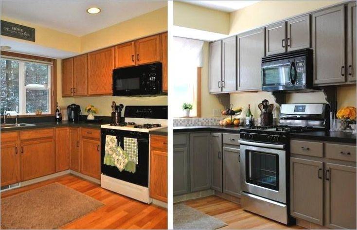 Küche Folieren Vorher Nachher Kuche Neu Gestalten