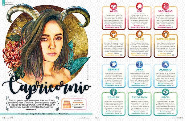 Horóscopos Revista 15a20 / Zodiac 15a20 magazine on Behance