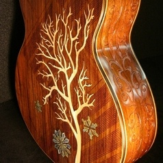 Blueberry Guitars..they have some of the most beautiful guitars around!!
