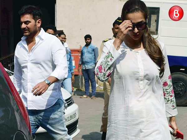 SPOTTED: Arbaaz Khan and Malaika Arora Khan outside family court post marriage counselling