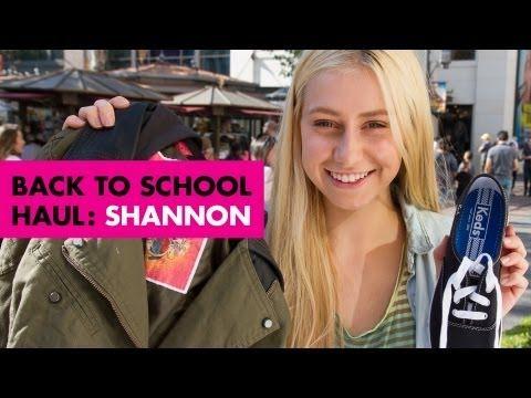 Back-to-School Saturday Haul -- Shannon Barker -- Teen Vogue
