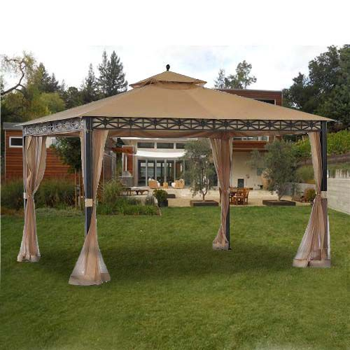 on Pinterest  Gazebo, Outdoor gazebos and Gazebo replacement canopy