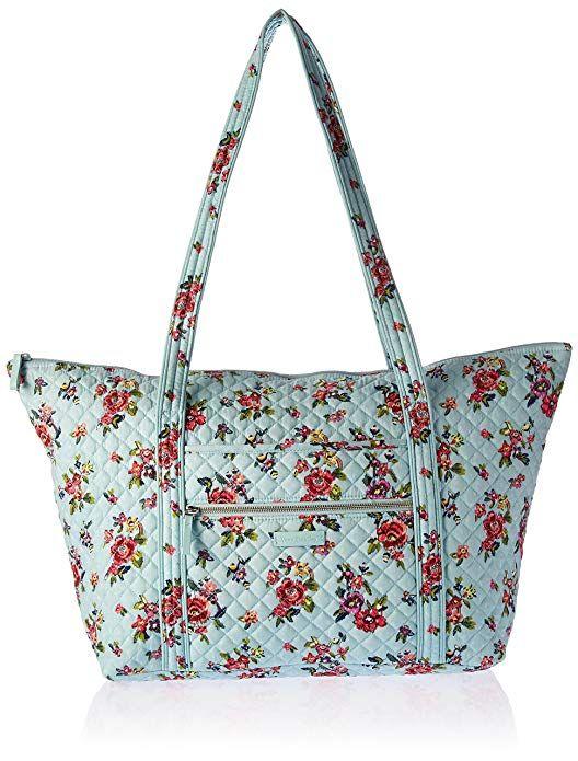 fe371833de97 Amazon.com  Vera Bradley Iconic Miller Travel Bag