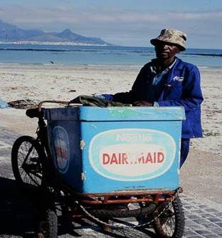 Remember the days when the 'ice cream man' rang his bell & pedalled up & down the streets?