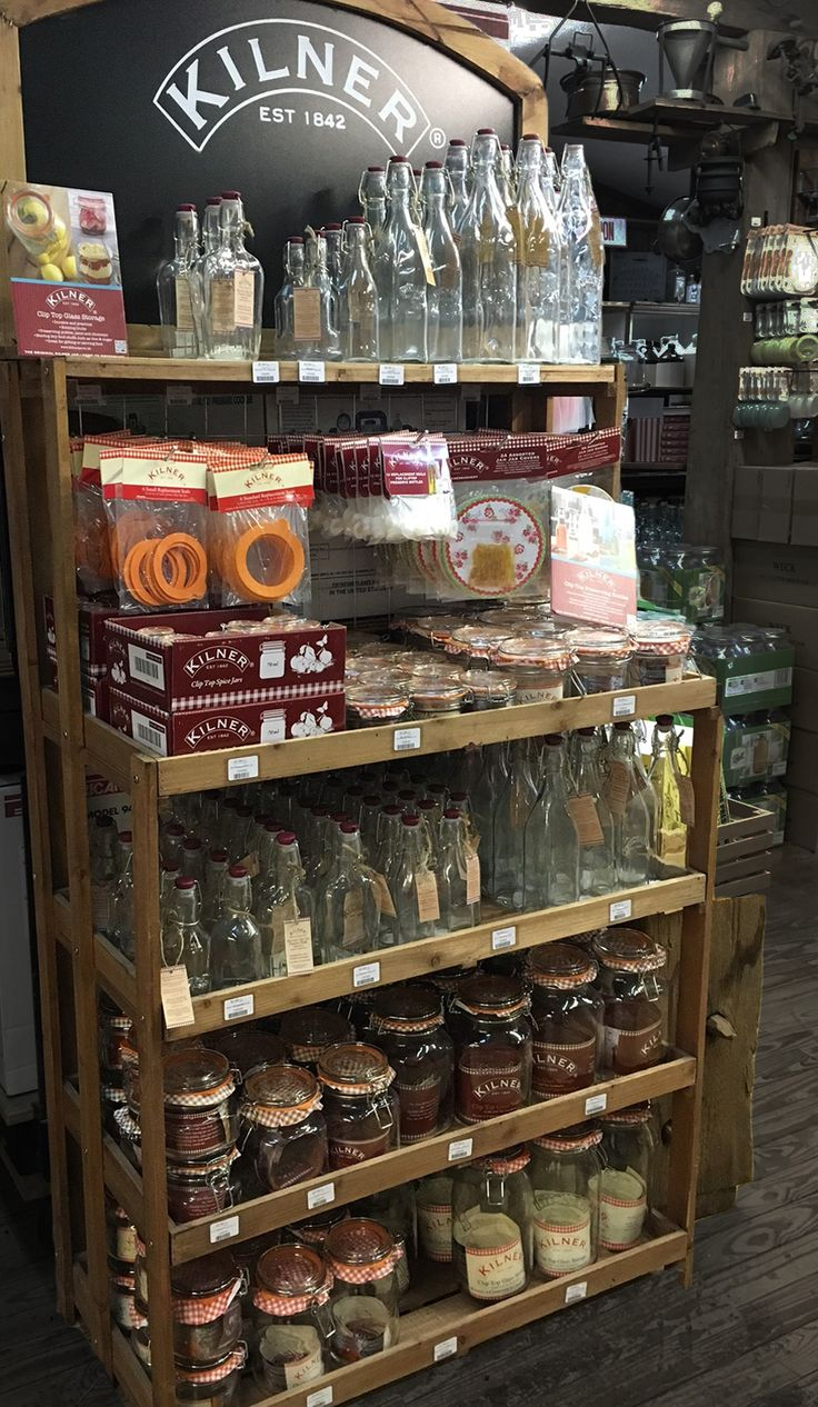 #Kilner display, Lehman's Hardware store USA