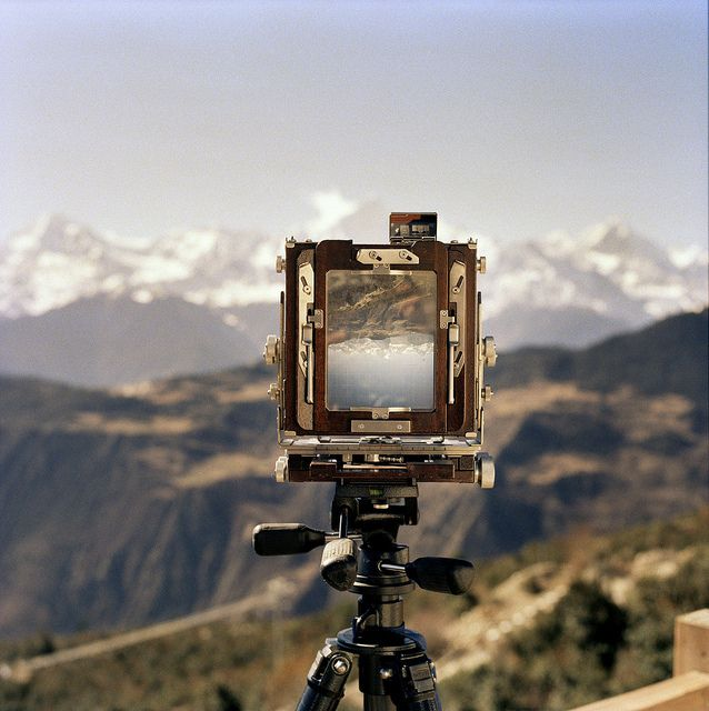 """""""my point of view by spiky247, via Flickr.""""   Cool shot...I miss shooting 4x5 film"""