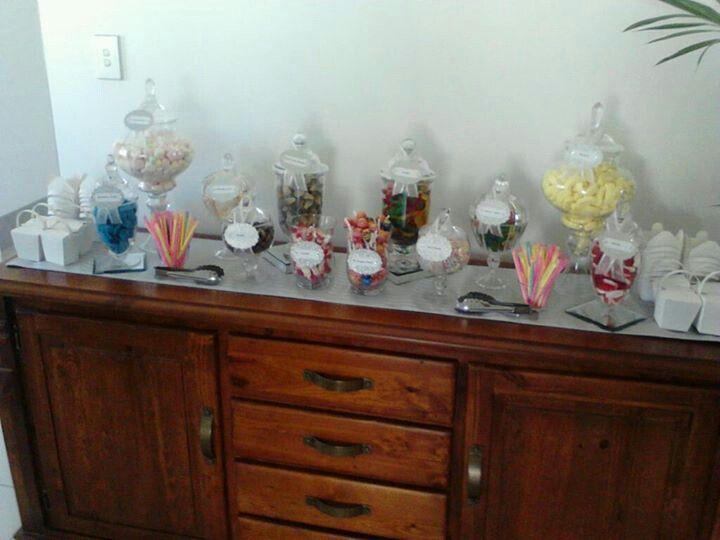 Babby shower buffet by Designer Dayz - Lolly Buffets
