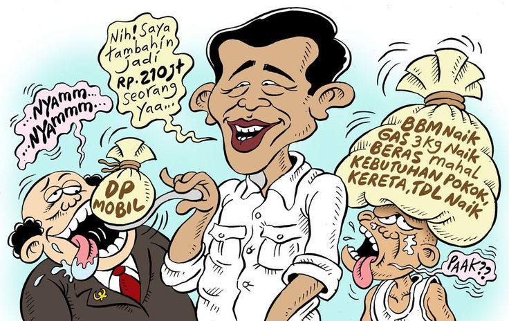 Mice Cartoon, Rakyat Merdeka - April 2015: Tunjangan!