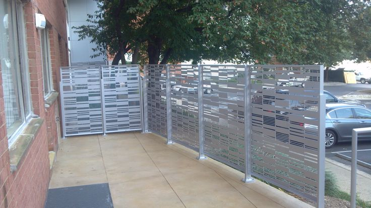 10 best images about fachadas on pinterest metal panels for Garage fence