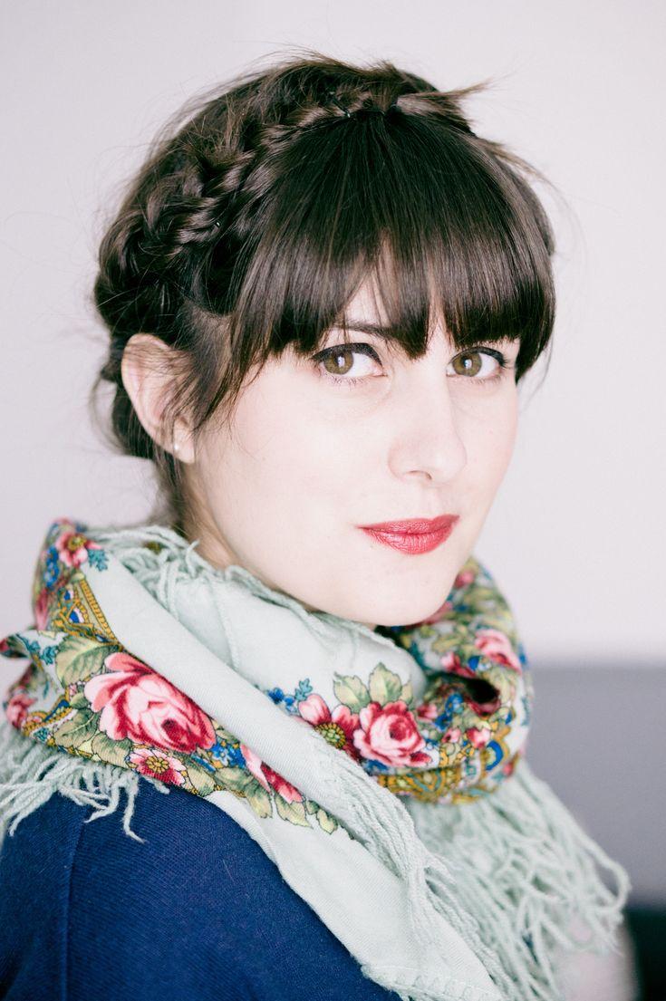Trendy Mood | Tuto vidéo : faire une tresse couronne avec les cheveux courts | http://www.trendymood.com